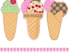 Ice cream Retro