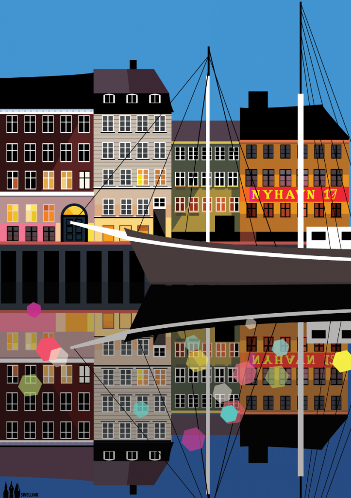 A3-Nyhavn-Print
