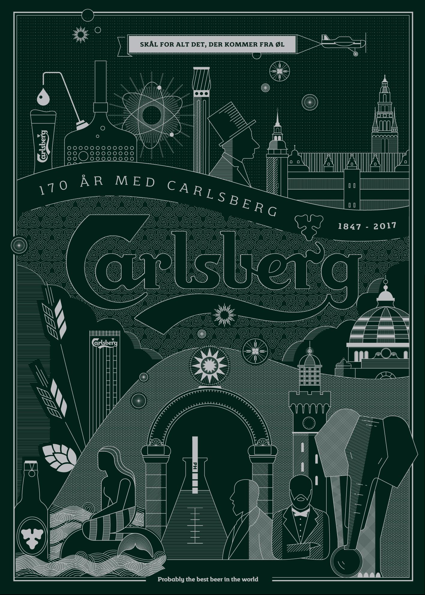 Carlsberg-poster
