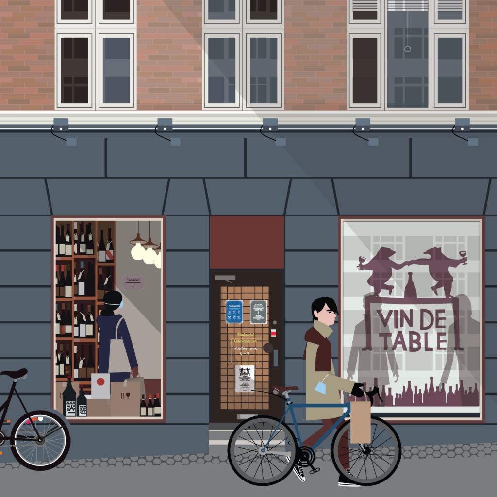 Vin de Table illustration