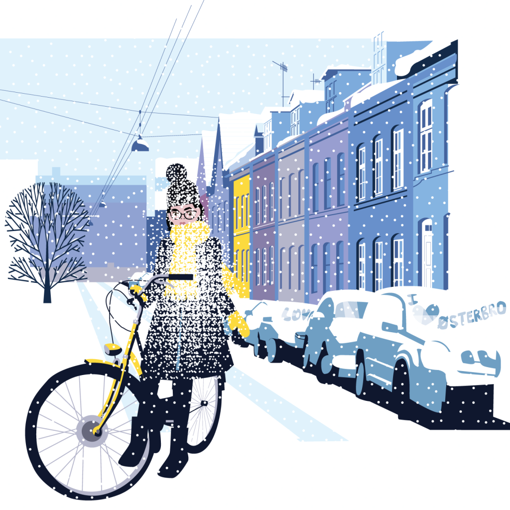 cycling-in-wool-in-the-snow