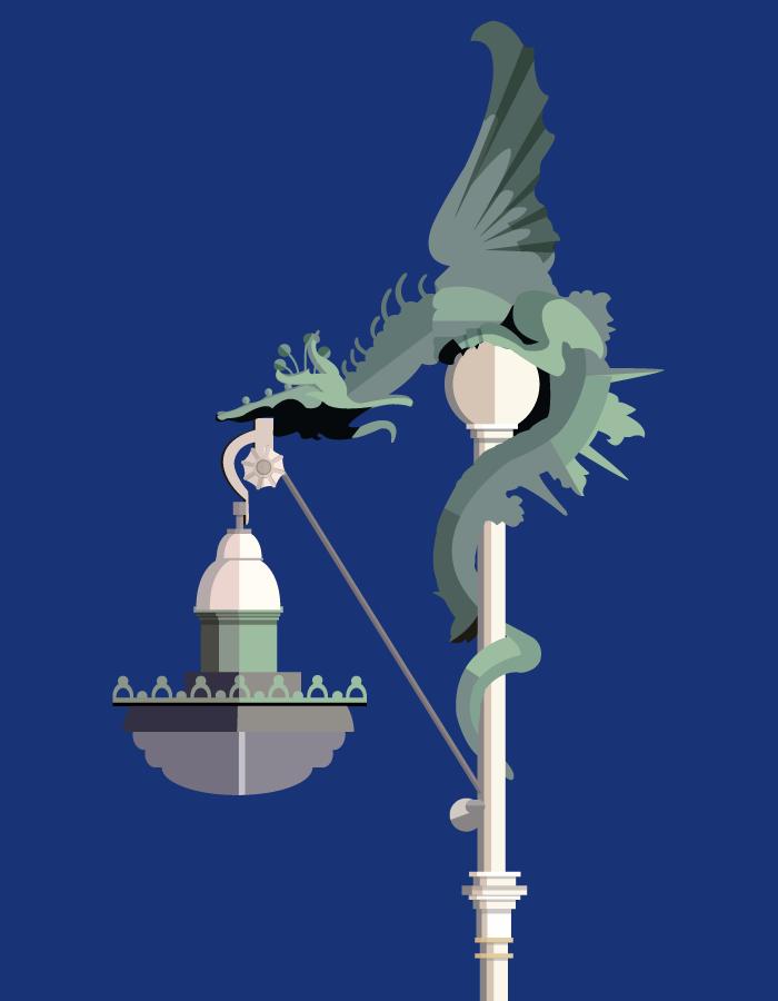 Dragon-lamp