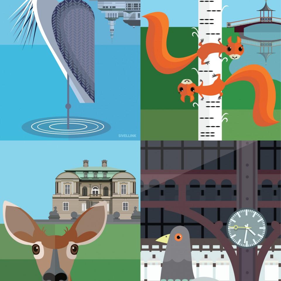 Animal-Postcard-Group