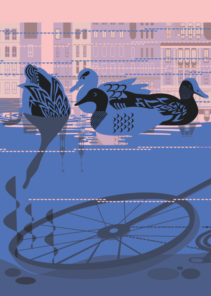 An Icon a Day - Ducks and Bikes
