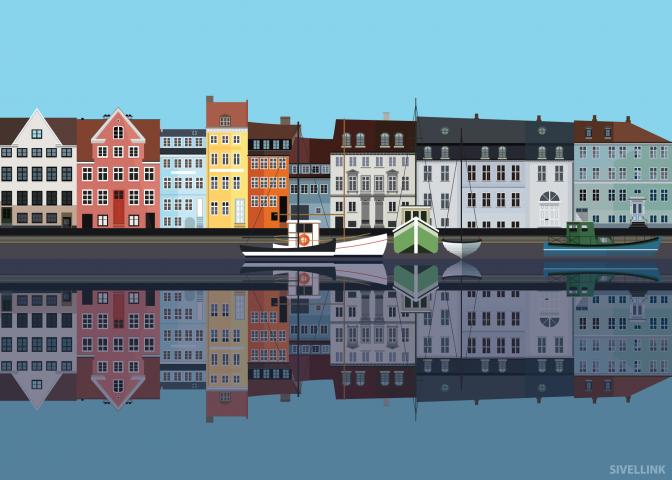 Christianshavn-Poster-50cm-x-70cm