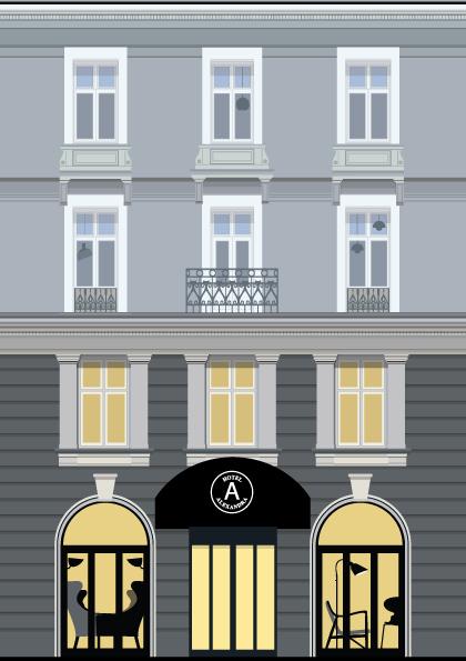 Hotel-lift-illustration