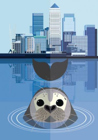 Canary Wharf Seal