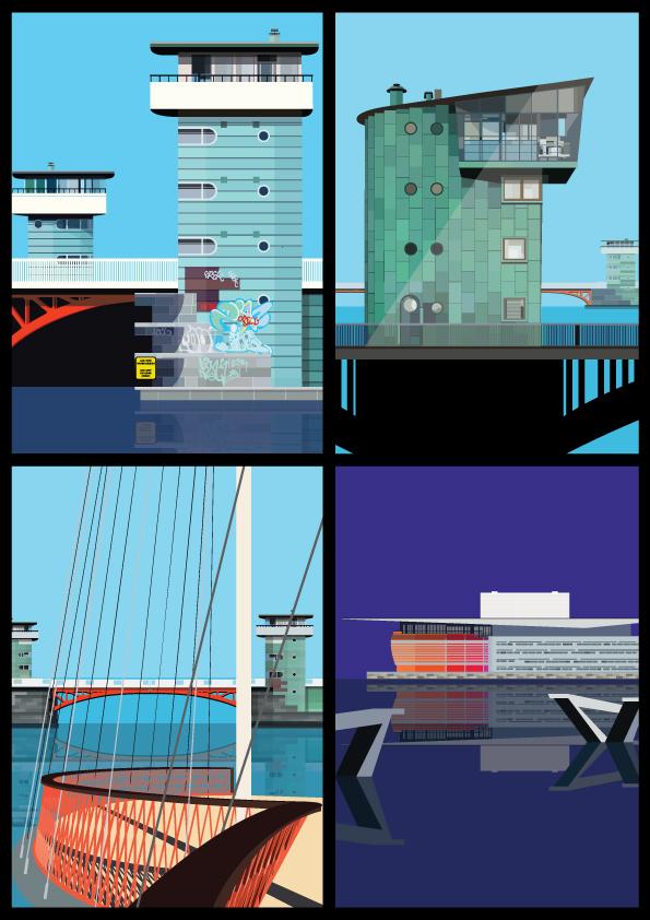 Bridge-postcards